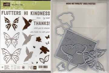 You Move Me Bundle $50 You Move Me Photopolymer Stamp Set and Move Me Thinlits Dies