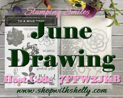 Stamping Smiles June Drawing