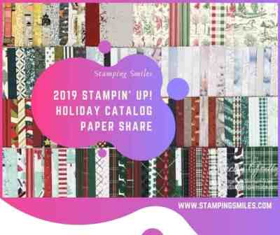 Stamping Smiles 2019 Stampin' Up! Holiday Catalog Paper Share