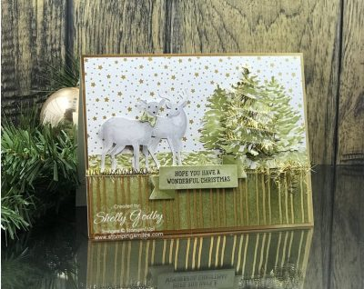 Pretty Christmas card ideas made with the Stampin' Up! Most Wonderful Time Product Medley