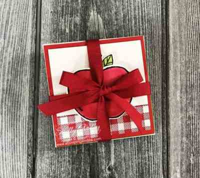 Handmade teacher gifts ideas with Stampin' Up! Harvest Hellos