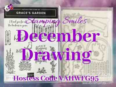 Stamping Smiles December 2019 Drawing