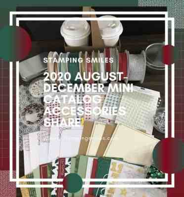 Stampin' Up! August-December 2020 Mini Catalog Paper Share & More