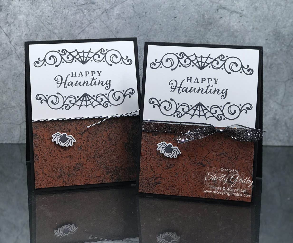 Stampin Up Halloween Card Ideas 2020 Haunting Handmade Halloween Cards with Stampin' Up! Celebration