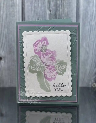 Stampin' Up! Shaded Summer Card Idea by www.stampingsmiles.com