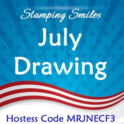 Stamping Smiles July Drawing