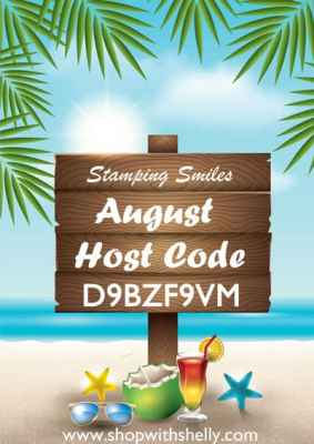 Stamping Smiles August Drawing Host Code