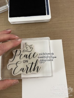 Simple & Stunning Stampin' Up! Thinking Thanks & Peace Cards www.stampingsmiles.com