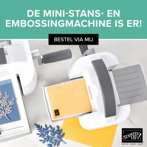 mini stans- en embossingmachine