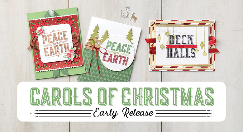 carols of christmas early release stampin up