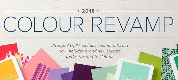Colour Revamp Stampin Up