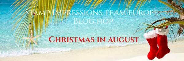 Kerst in Augustus - Stamp Impressions Blog Hop
