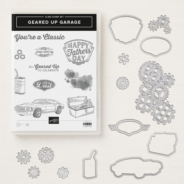 Geared Up Garage Bundle Stampin Up