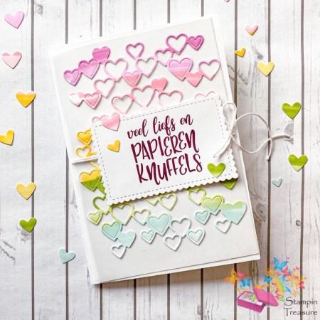 liefs, papieren knuffels, share sunshine, deel zonneschijn