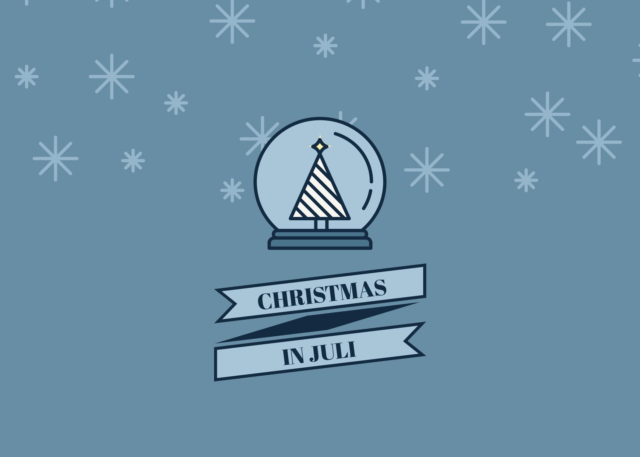christmas in juli, kerst, july, aanbieding
