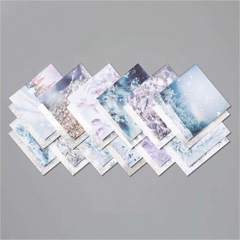feels like frost, stampin up, stampin treasure, dsp, papier met een design