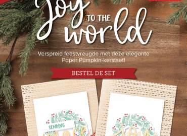 joy to the world, paper pumpkin, workshop, zolang de voorraad strekt