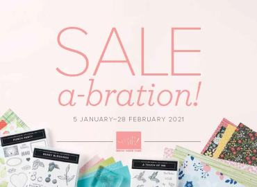 sale a bration, sab, stampin up, stampin treasure, gratis, feest