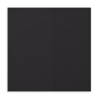 "Basic Black 12"" X 12"" Card Stock"