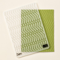 Zig Zag Textured Impressions Embossing Folder by Stampin' Up!