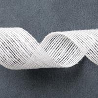 """White 1-1/4"""" (3.2 Cm) Jute Ribbon"""
