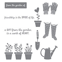 Gift from the Garden Clear-Mount Stamp Set by Stampin' Up!