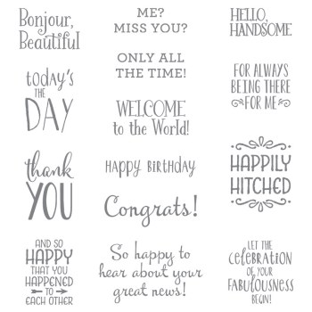 Happy Happenings, Stampin' Up!