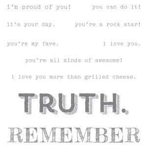 Words of Truth, Stampin Up!