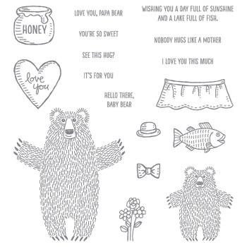 Bear Hugs, Stampin' Up!