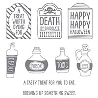 Sweet Hauntings Clear-Mount Stamp Set by Stampin' Up!
