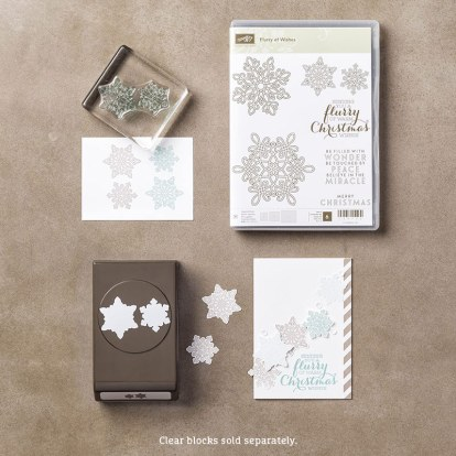 Flurry of Wishes Photopolymer Bundle, Stampin' Up!
