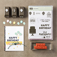 Party Wishes Clear-Mount Bundle by Stampin' Up!