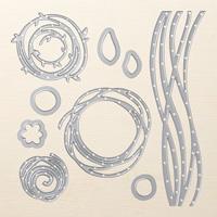 Swirly Scribbles Thinlits Dies