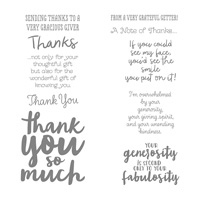 Thankful Thoughts Clear-Mount Stamp Set