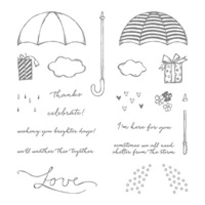 Weather Together Photopolymer Stamp Set