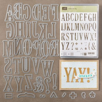 Letters for You Bundle, Stampin' Up!