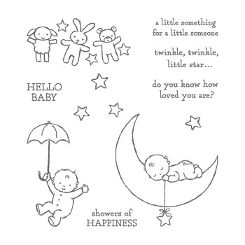 Moon Baby, Stampin' Up!