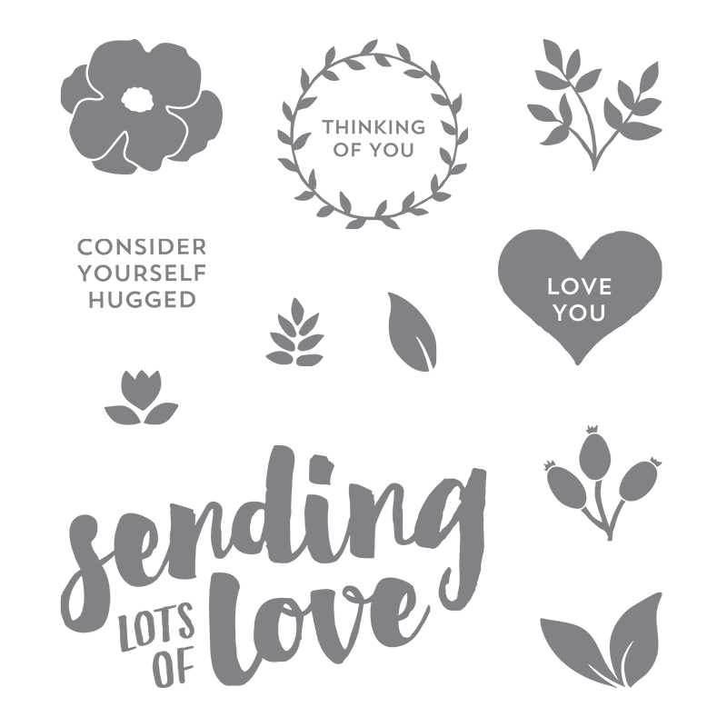 Lots of Love Clear-Mount Stamp Set