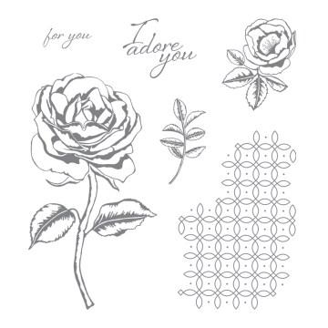 Graceful Garden Clear-Mount Stamp Set
