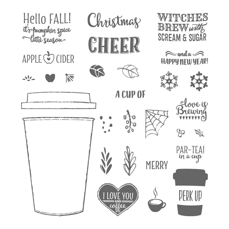 Stampin' UP! Merry Cafe