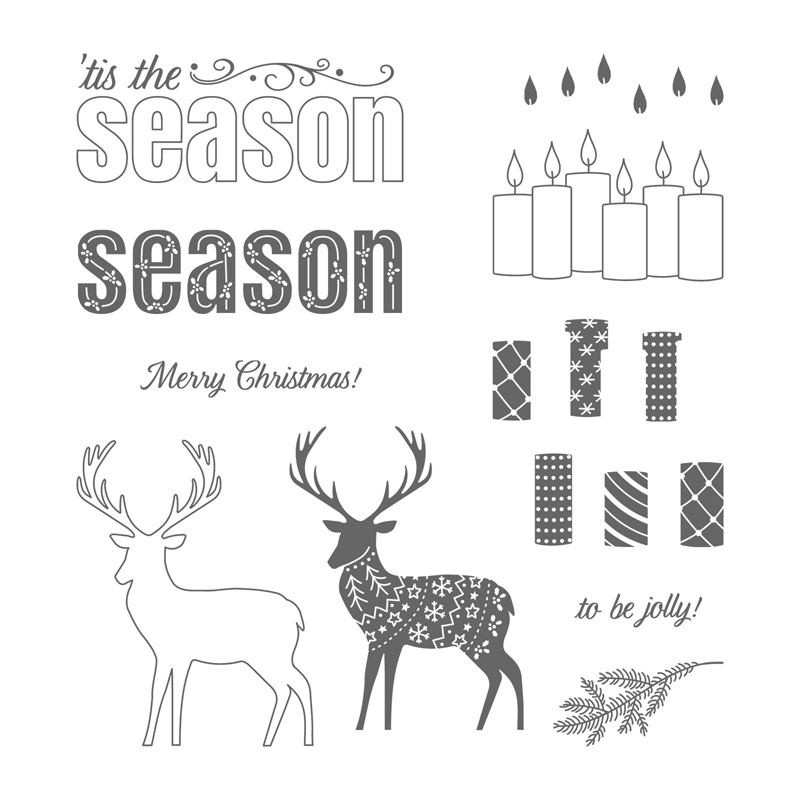 Merry Patterns Photopolymer Stamp Set