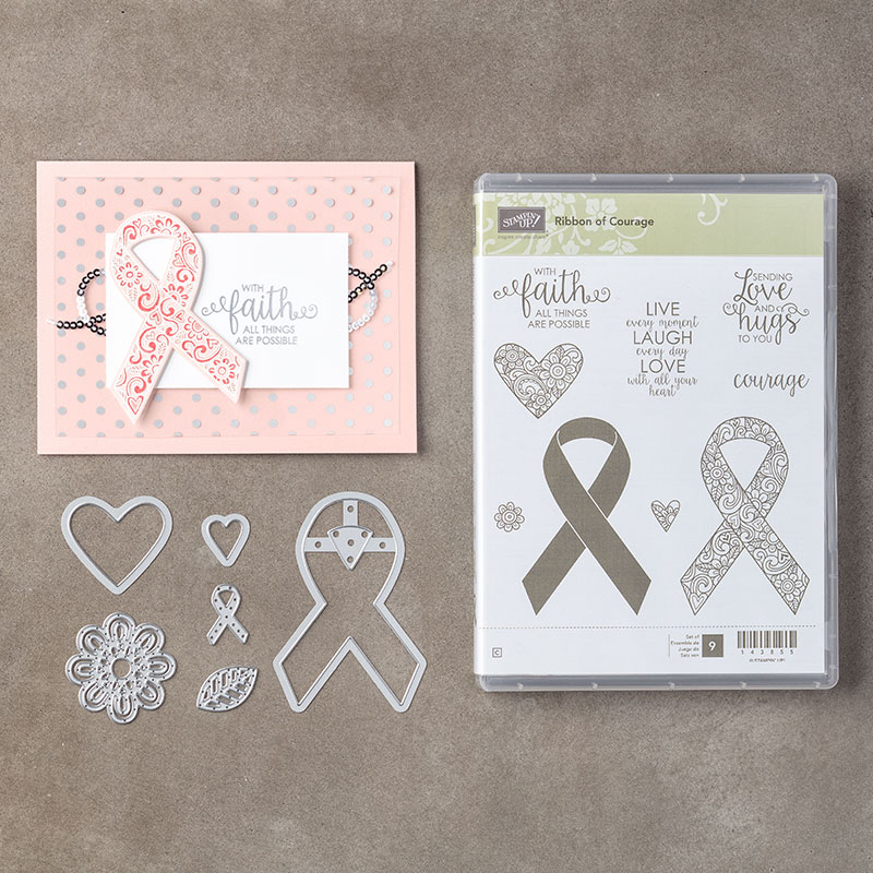 Ribbon of Courage Clear-Mount Bundle