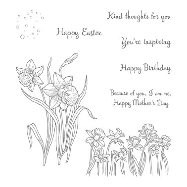 You're Inspiring Clear-Mount Stamp Set