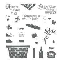 Picnic with You Photopolymer Stamp Set