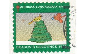 American Lung Association, USA stamp