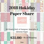 2018 Holiday Paper Share