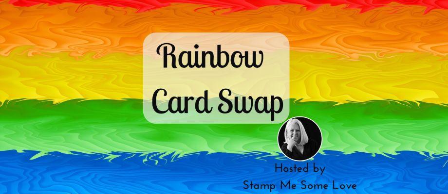 Rainbow Card Swap