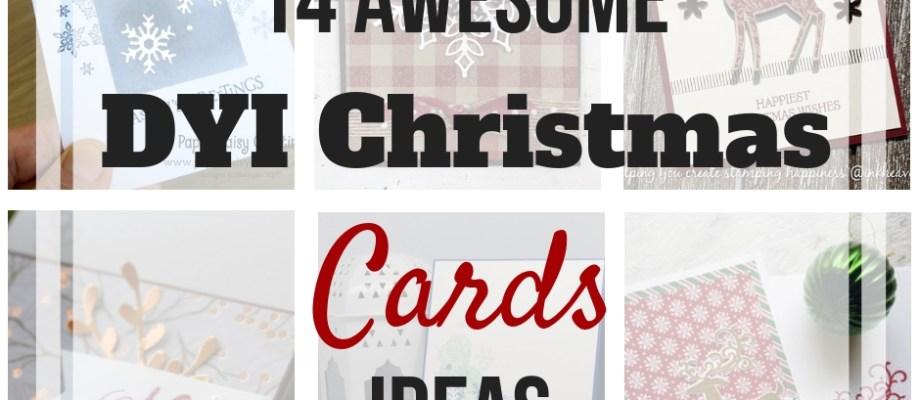 Awesome DIY Chirstmas Card Ideas