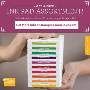 Join My Stampin' Up! Team and Get 10 Ink Pads Free