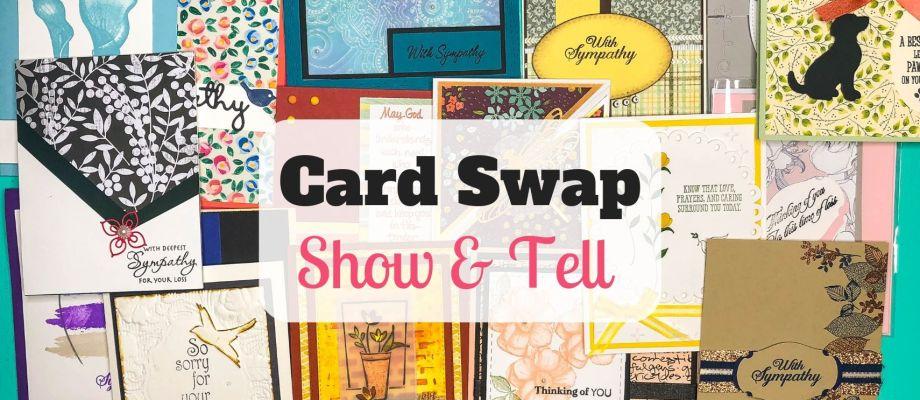 Show & Tell: Sympathy Card Swap